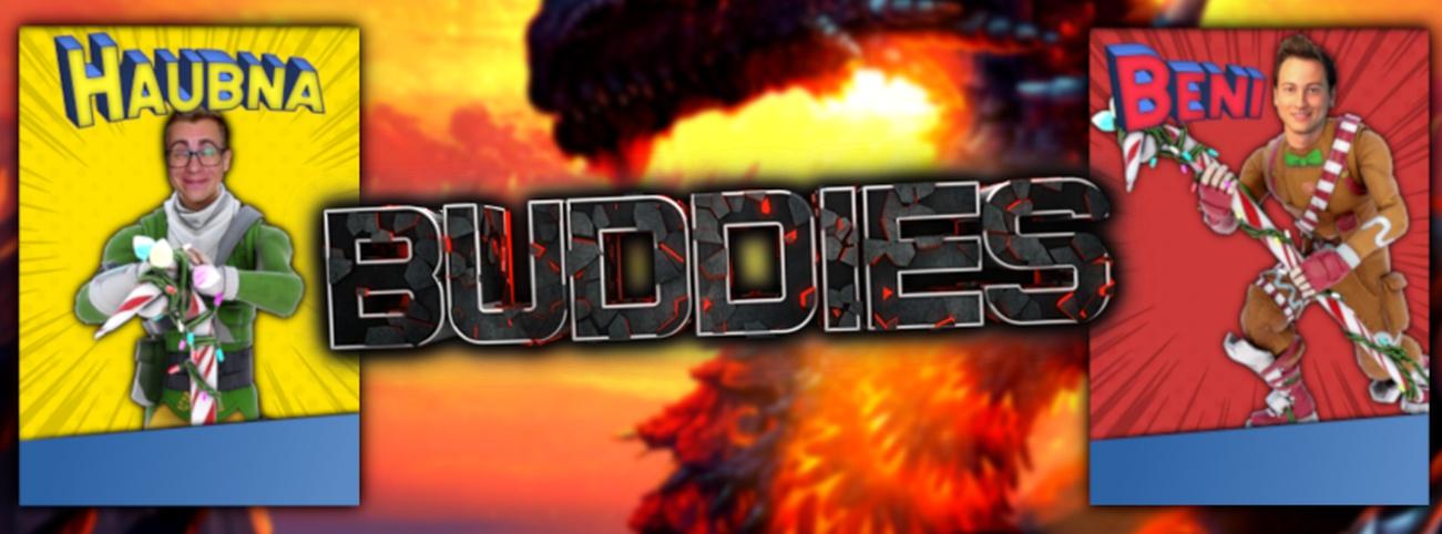 Banner Die Buddies zocken