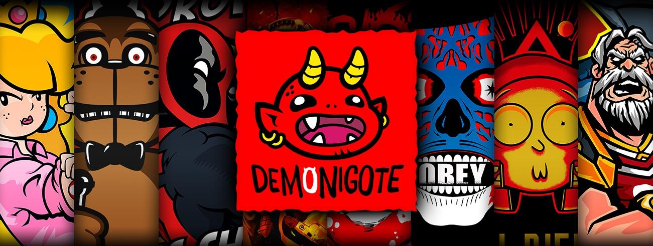 Banner Demonigote Shirts
