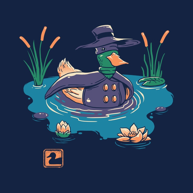 Dark Duck Costume