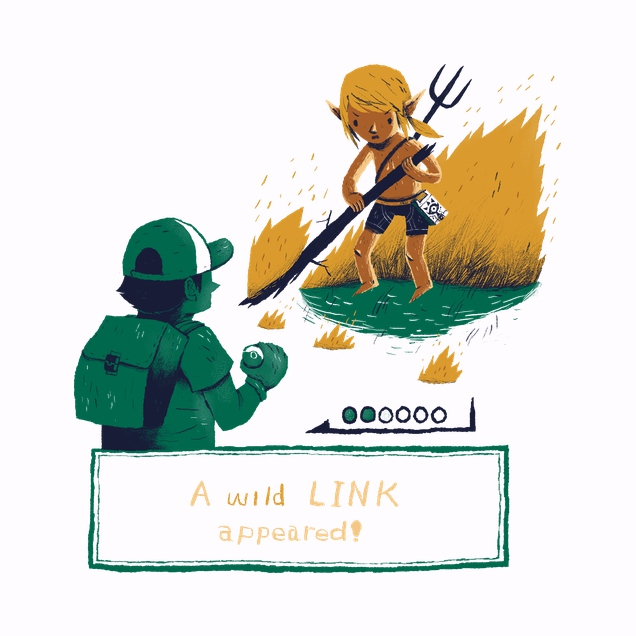 Wild Link Appears!