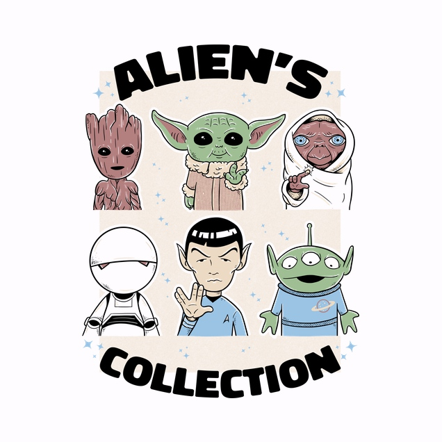 Umberto Vicente - Alien's Collection