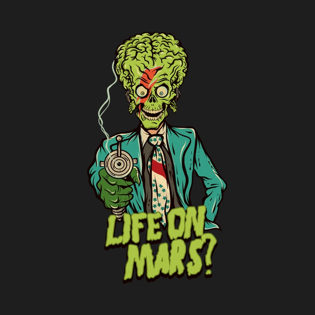 greendevil - Life on Mars?