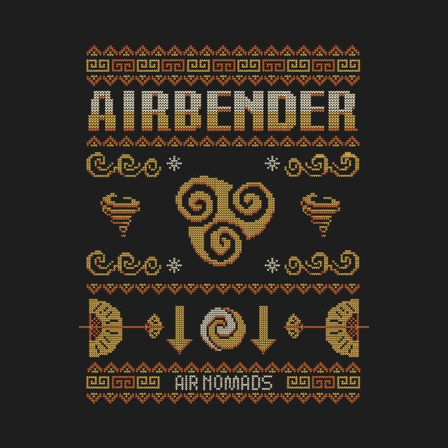 Typhoonic - Airbender Christmas Sweater