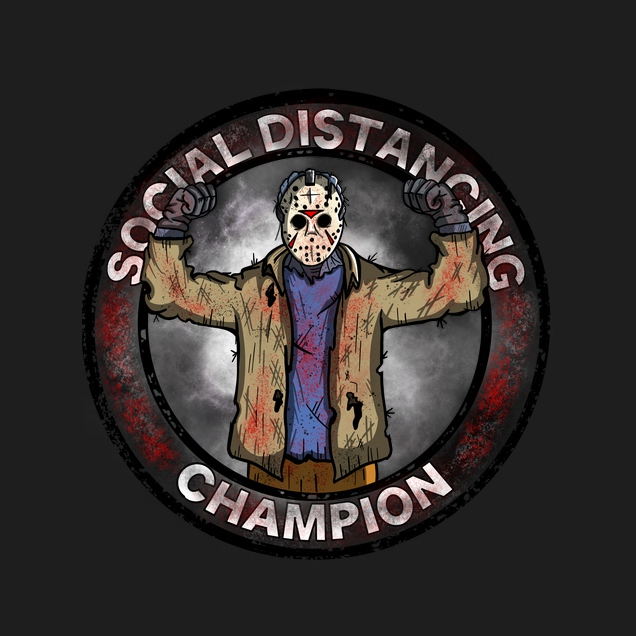 Gery Arts - Social Distancing Champion