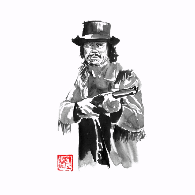 Péchane - charles bronson in red sun