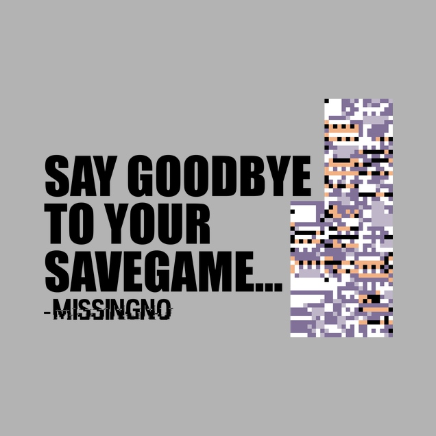 IamHaRa - Goodbye Savegame - Missingno