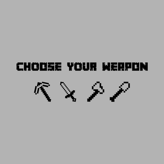 bjin94 - Choose Your Weapon MC-Edition