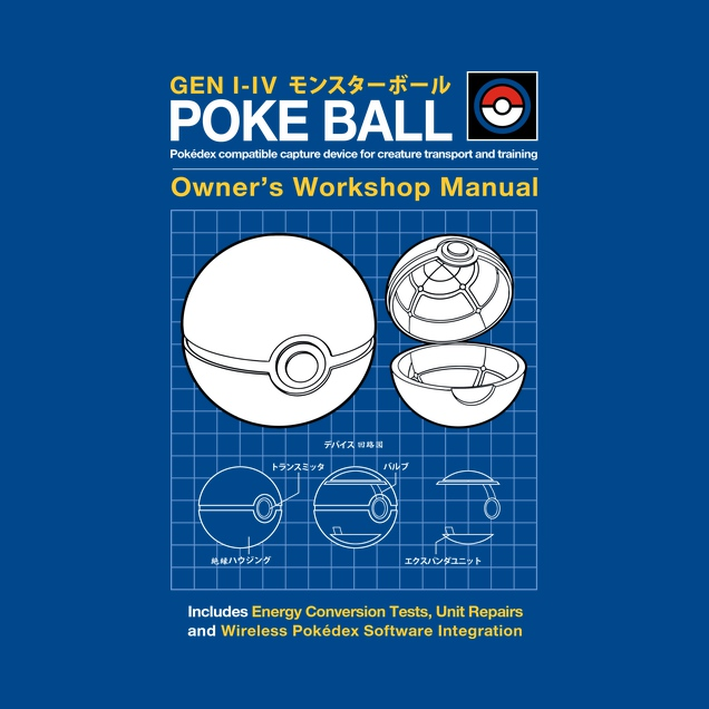 Pokeball Manual