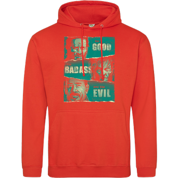 The Good, The Badass and the Evil JH Hoodie - Orange