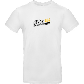 KawaQue KawaQue - Error 404 T-Shirt B&C EXACT 190 -  White