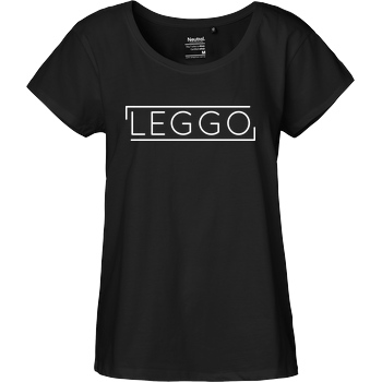 Kelvin und Marvin Kelvin und Marvin - Leggo T-Shirt Fairtrade Loose Fit Girlie - schwarz