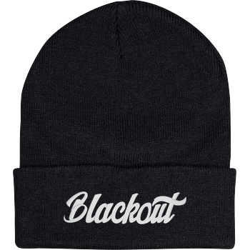 Blackout - Beanie white