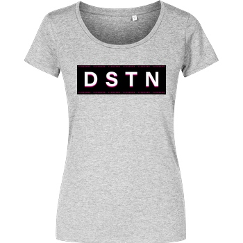 Dustin Dustin Naujokat - DSTN T-Shirt Damenshirt heather grey