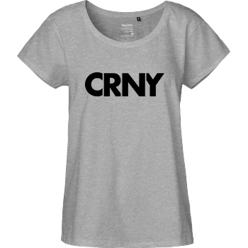 C0rnyyy C0rnyyy - CRNY T-Shirt Fairtrade Loose Fit Girlie - heather grey