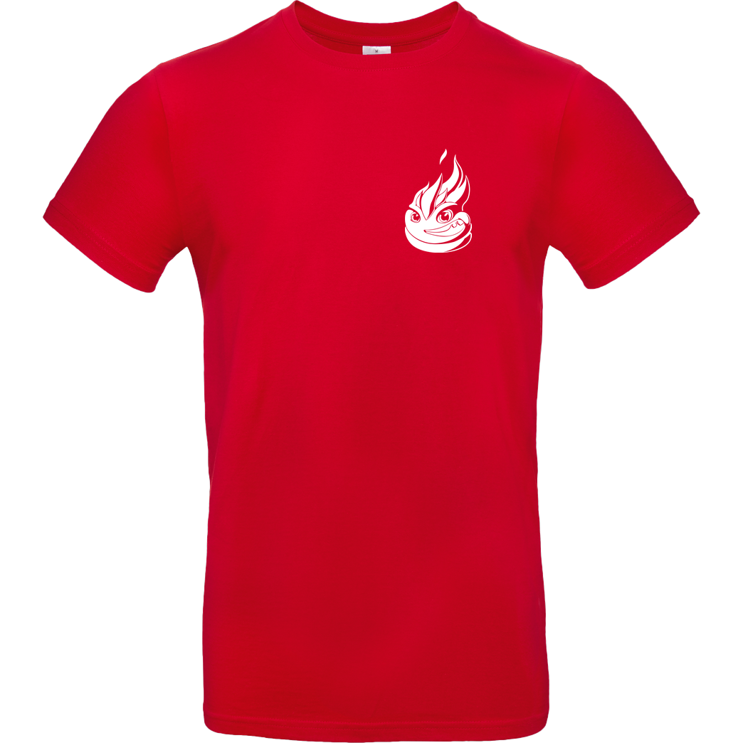 Lucas Lit LucasLit - Litty Shirt T-Shirt B&C EXACT 190 - Red