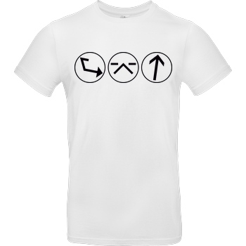 Ash5ive Ash5 - Dings T-Shirt B&C EXACT 190 -  White