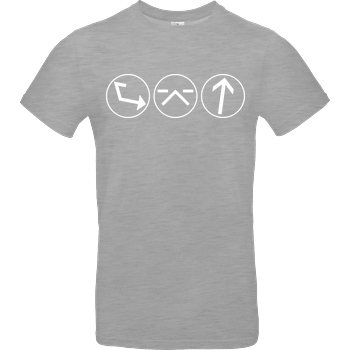 Ash5ive Ash5 - Dings T-Shirt B&C EXACT 190 - heather grey