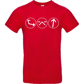 Ash5ive Ash5 - Dings T-Shirt B&C EXACT 190 - Red