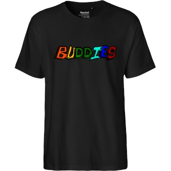 Die Buddies zocken 2EpicBuddies - Colored Logo Big T-Shirt Fairtrade T-Shirt