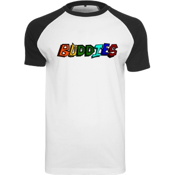 Die Buddies zocken 2EpicBuddies - Colored Logo Big T-Shirt Raglan Tee white