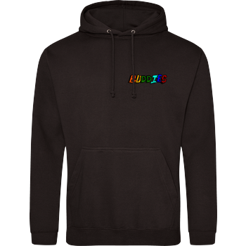2EpicBuddies - Colored Logo Small JH Hoodie - Schwarz