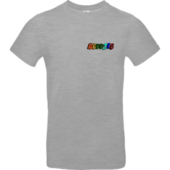 Die Buddies zocken 2EpicBuddies - Colored Logo Small T-Shirt B&C EXACT 190 - heather grey