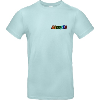 Die Buddies zocken 2EpicBuddies - Colored Logo Small T-Shirt B&C EXACT 190 - Mint