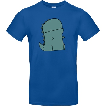 JerichoFive Jericho Five - Thumbs Up Dino T-Shirt B&C EXACT 190 - Royal Blue
