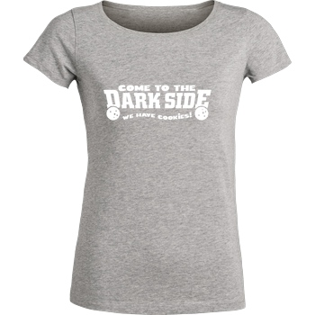 Come to the dark side T-Shirt Stella Loves Girlie heather grey