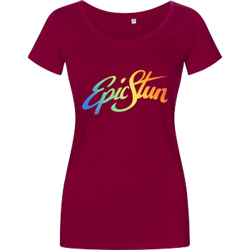 EpicStun EpicStun - Color Logo T-Shirt Girlshirt berry