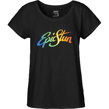 EpicStun - Color Logo Fairtrade Loose Fit Girlie