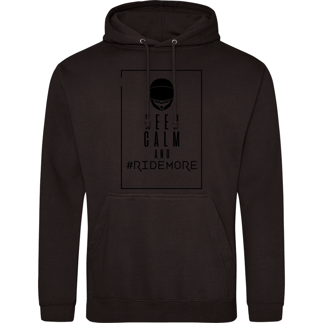 Ride-More Ridemore - Keep Calm Sweatshirt JH Hoodie - Schwarz