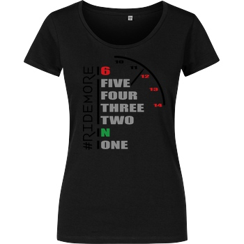 Ride-More Ridemore - Shift Gears T-Shirt Damenshirt schwarz