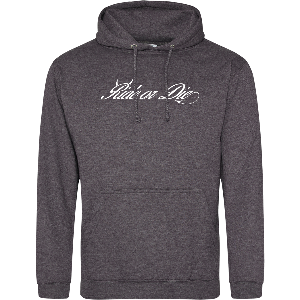 Ride-More Ridemore - Ride or Die Sweatshirt JH Hoodie - Dark heather grey