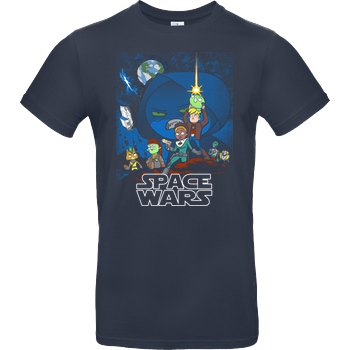 Space Wars multicolor
