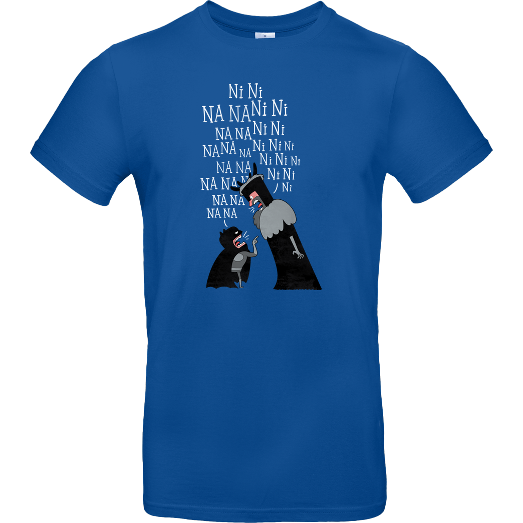 Anna-Maria Jung The knights wo say... T-Shirt B&C EXACT 190 - Royal Blue