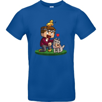 Centex Centex - Bella & Tweety T-Shirt B&C EXACT 190 - Royal Blue