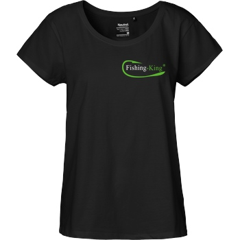 Fishing-King Fishing-King - Pocket Logo T-Shirt Fairtrade Loose Fit Girlie