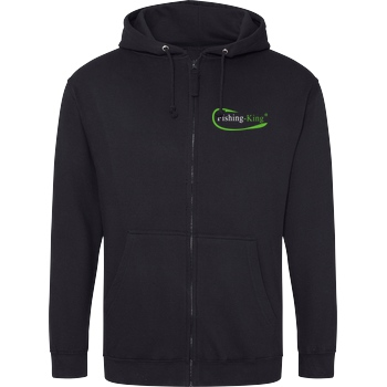 Fishing-King Fishing-King - Pocket Logo Sweatshirt Hoodiejacke schwarz