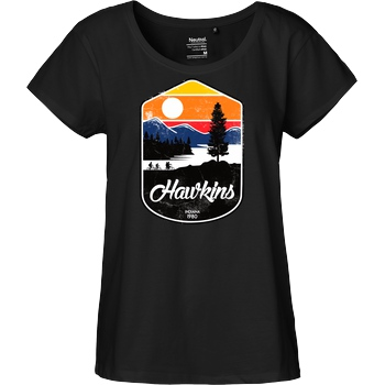 Douglasstencil Hawkins T-Shirt Fairtrade Loose Fit Girlie