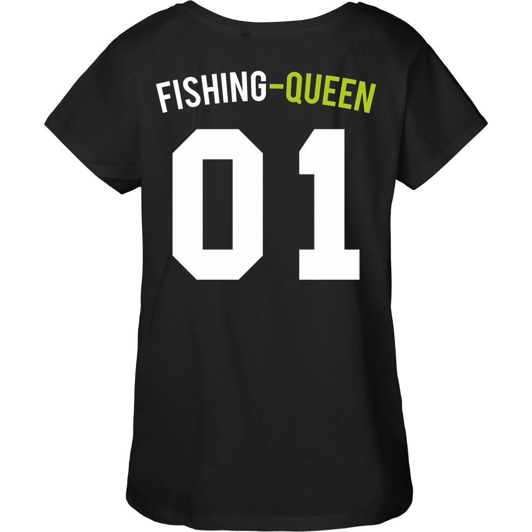 Fishing-King Fishing King - Queen T-Shirt Fairtrade Loose Fit Girlie