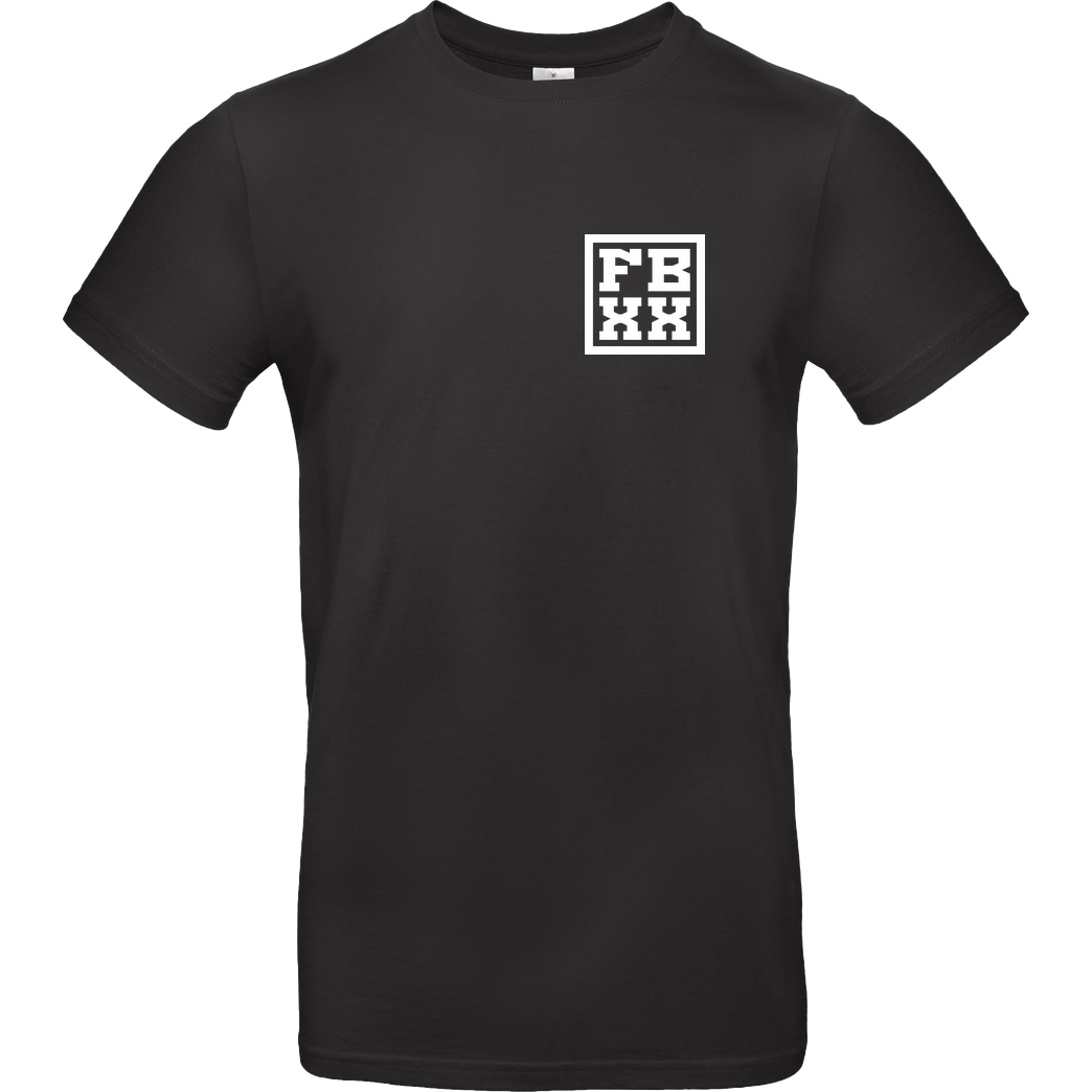 FRESHBOXXTV Fresh Boxx TV - XX T-Shirt B&C EXACT 190 - Black
