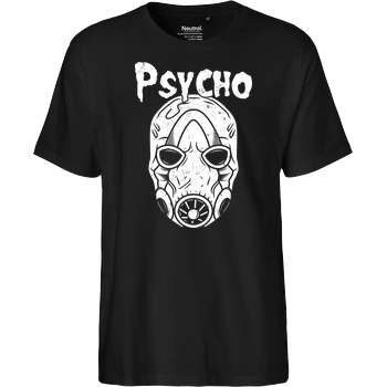 AlundrART Psycho T-Shirt Fairtrade T-Shirt