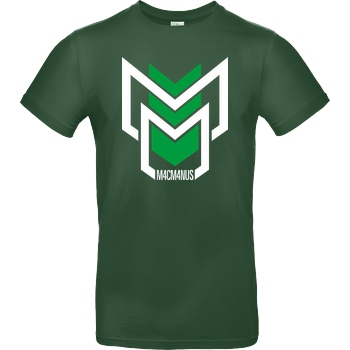 M4cM4nus M4cM4nus - MM T-Shirt B&C EXACT 190 -  Bottle Green