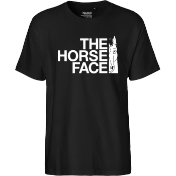 Demonigote Shirts The Horse Face T-Shirt Fairtrade T-Shirt