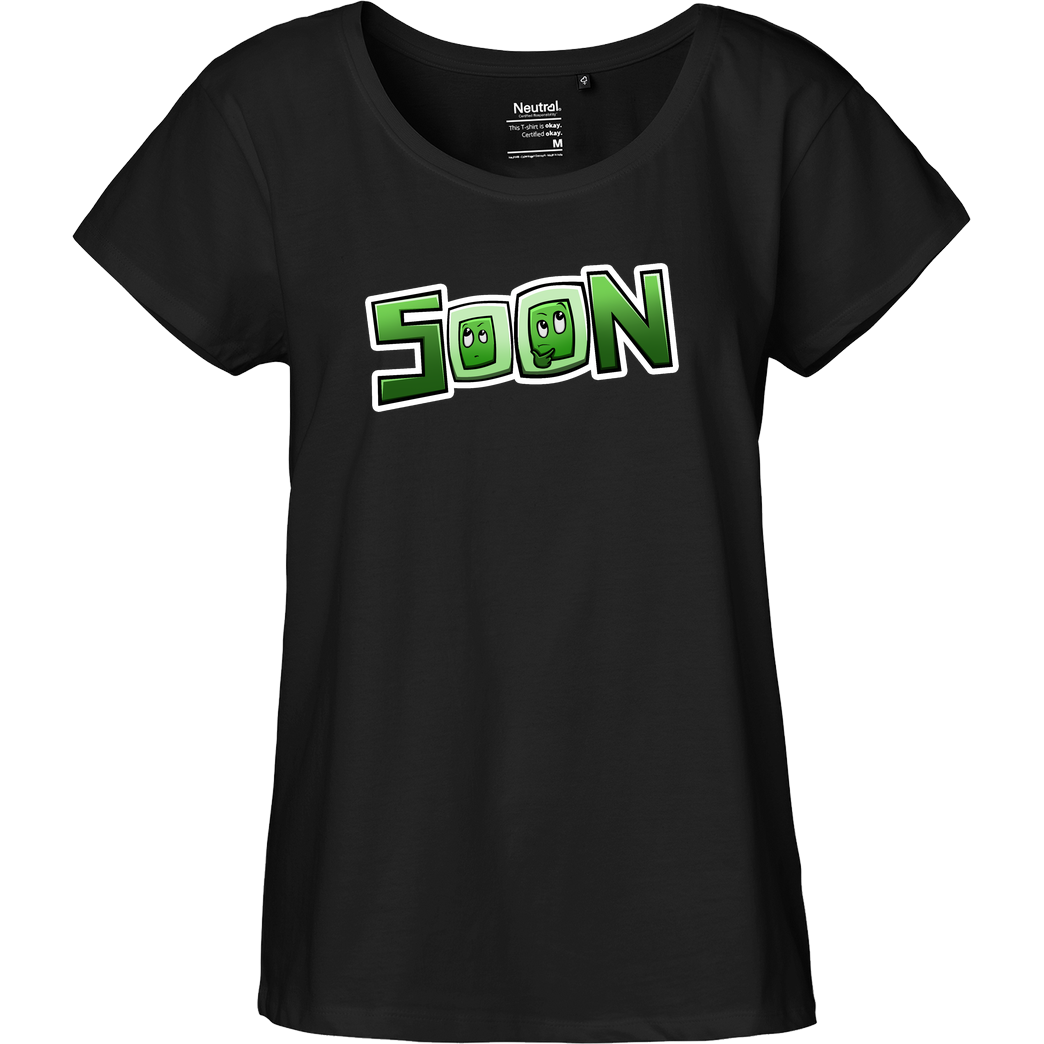 gamingguidesde GGDE - Soon T-Shirt Fairtrade Loose Fit Girlie