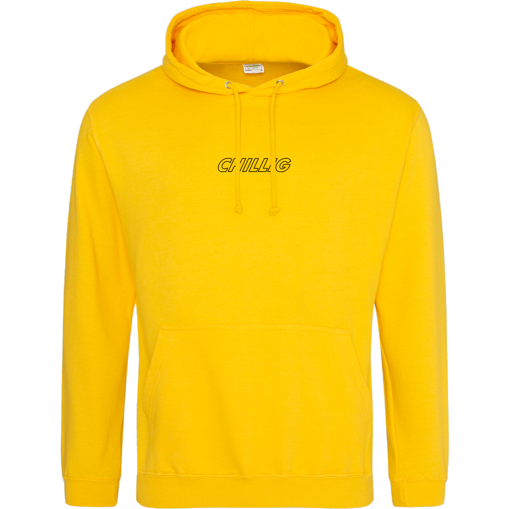 AimBrot Aimbrot - Chillig Sweatshirt JH Hoodie - Gelb