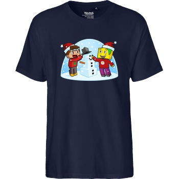 Centex Centex - Weihnachten T-Shirt Fairtrade T-Shirt - navy
