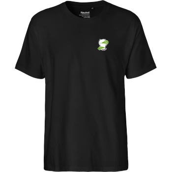 byStegi Stegi - Green Mind T-Shirt Fairtrade T-Shirt - black