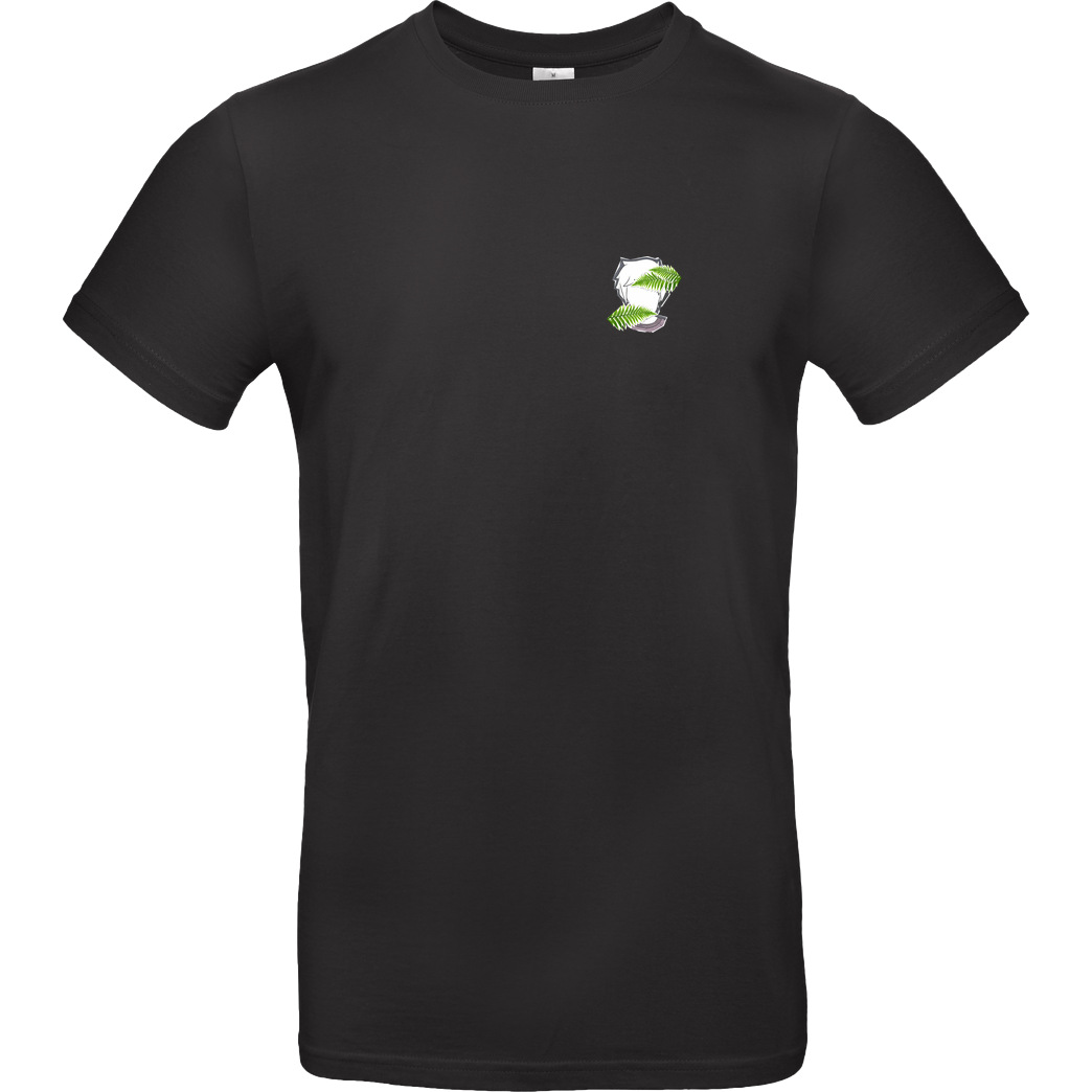 byStegi Stegi - Green Mind T-Shirt B&C EXACT 190 - Black